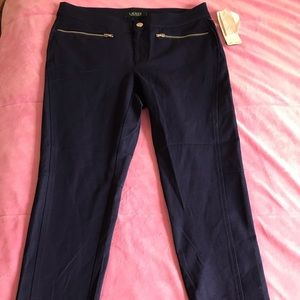 Ralph Lauren Capri Navy Pants... Brand New w/tag.